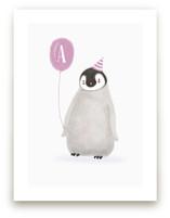 Coolest Penguin by Elska Studio