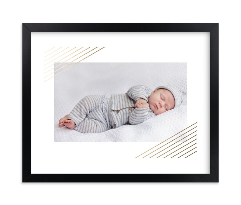 """""""Modern Shimmer"""" - Foil Pressed Children's Custom Photo Art Print by Alston Wise in beautiful frame options and a variety of sizes."""
