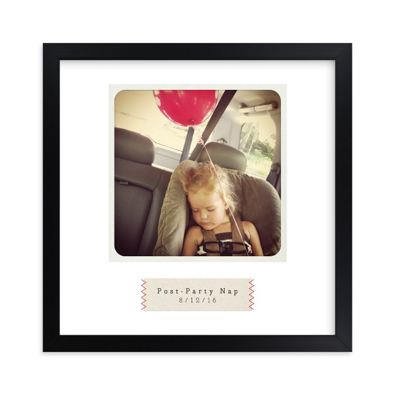 """""""Stitched"""" - Children's Custom Photo Art Print by Alston Wise in beautiful frame options and a variety of sizes."""