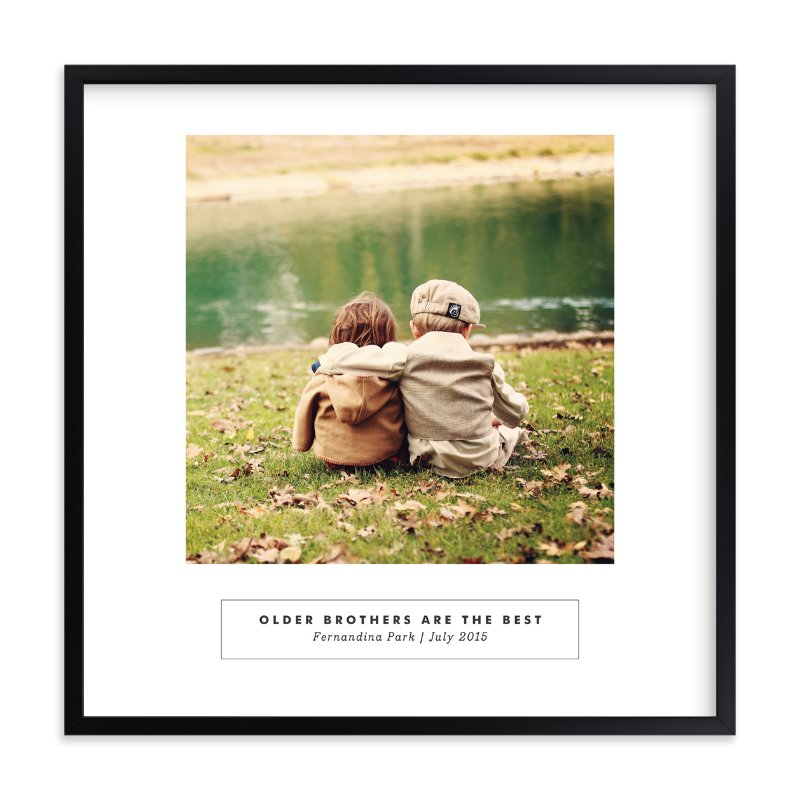 """""""Instagallery"""" - Children's Custom Photo Art Print by Alston Wise in beautiful frame options and a variety of sizes."""