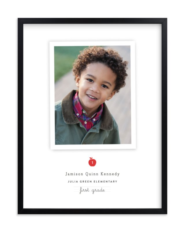 """""""school days"""" - Children's Custom Photo Art Print by Sara Hicks Malone in beautiful frame options and a variety of sizes."""