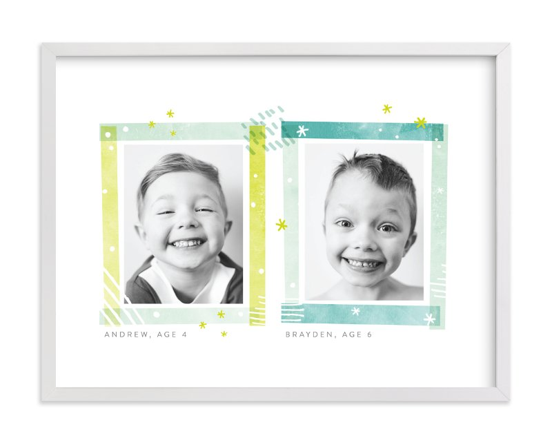 """""""Say Cheese"""" - Children's Custom Photo Art Print by Shirley Lin Schneider in beautiful frame options and a variety of sizes."""