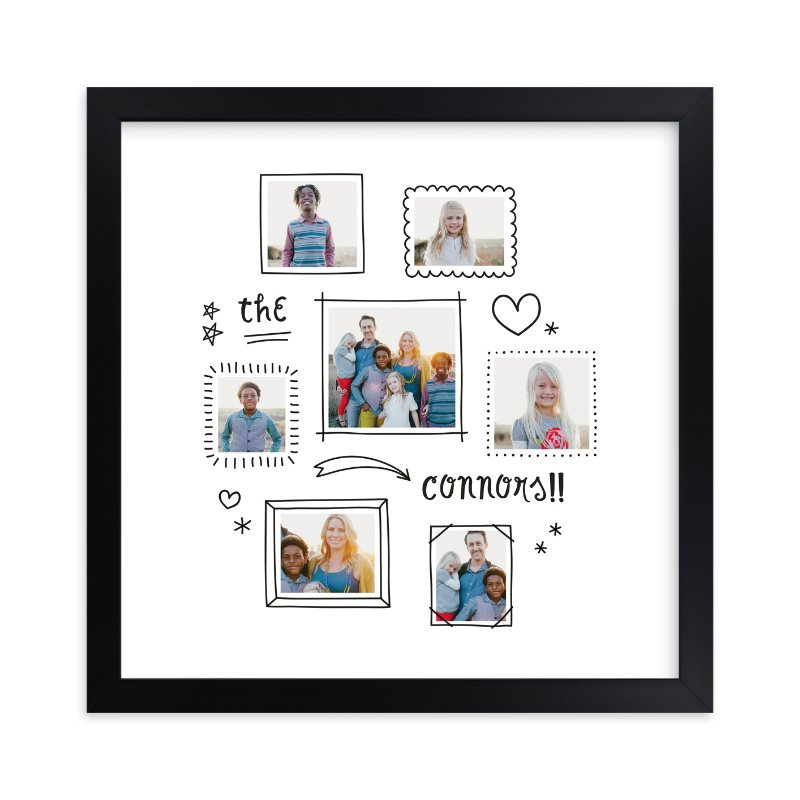 """Graffiti"" - Children's Custom Photo Art Print by Up Up Creative in beautiful frame options and a variety of sizes."