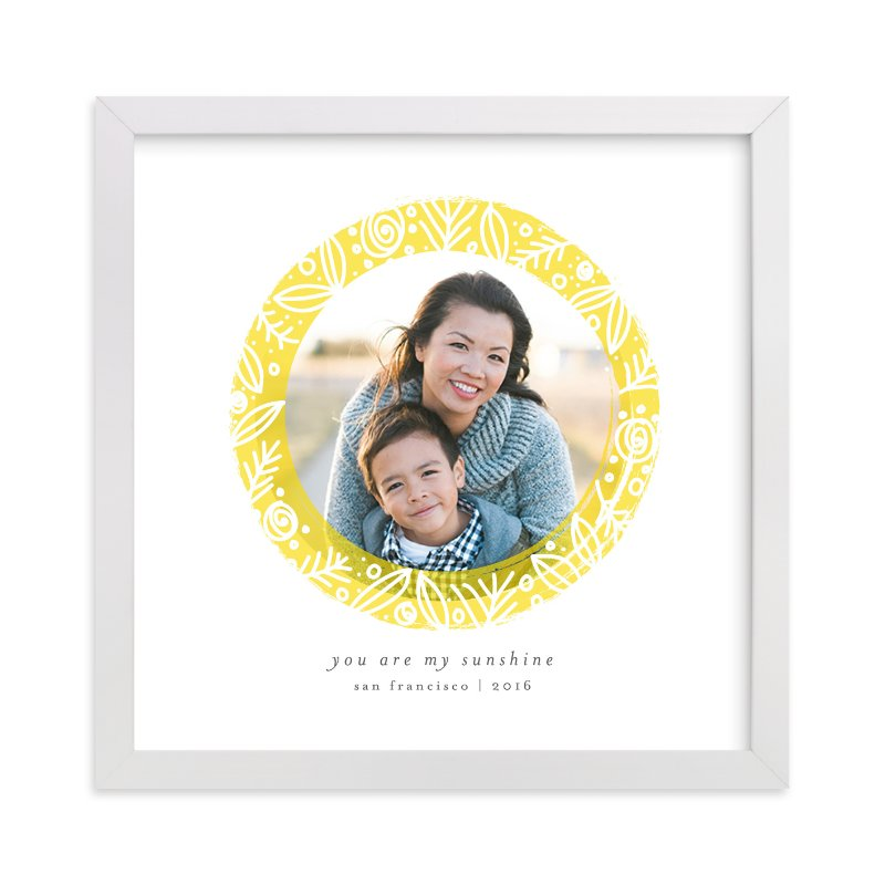 """""""Bright Sunshine"""" - Children's Custom Photo Art Print by Bethan in beautiful frame options and a variety of sizes."""