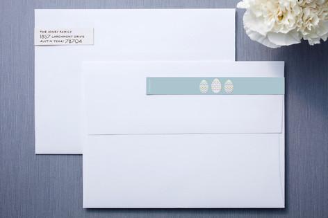 Easter Eggs Skinnywrap™ Address Labels