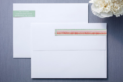 Painted Stripe Skinnywrap™ Address Labels