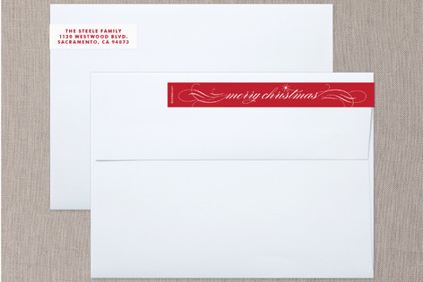 Joyful Wishes Skinnywrap™ Address Labels