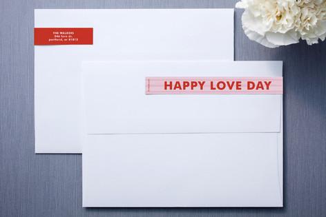 Striped Love Skinnywrap™ Address Labels