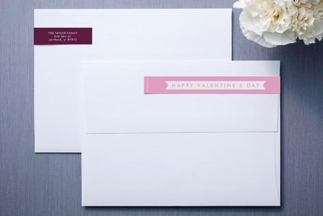 Patterned Love Skinnywrap™ Address Labels