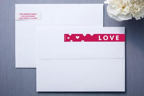 Hearts Aflutter Skinnywrap™ Address Labels