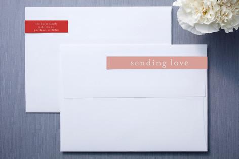 Handmade Heart Skinnywrap™ Address Labels