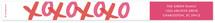 XOXO Bunting Banners