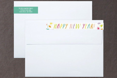 Super Happy Skinnywrap™ Address Labels