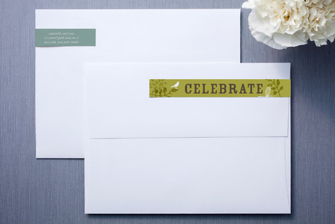 Fling Skinnywrap™ Address Labels
