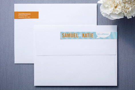 Smart Conversation Skinnywrap™ Address Labels