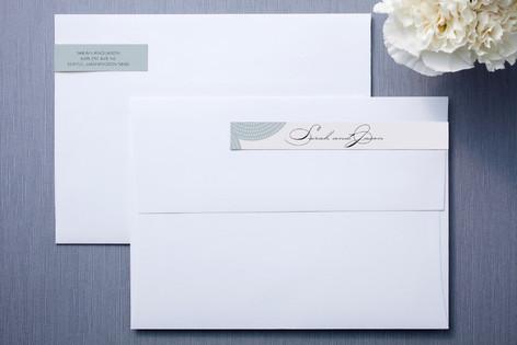Pearls on a String Skinnywrap™ Address Labels