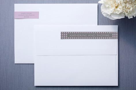 Swanky Hotel Skinnywrap™ Address Labels