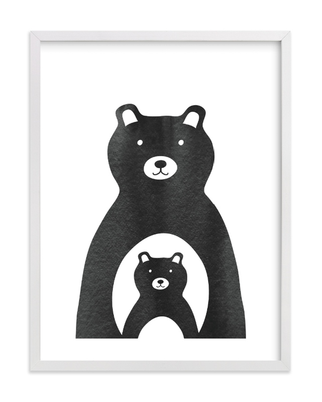 """""""Mama and Me"""" - Limited Edition Art Print by Lehan Veenker in beautiful frame options and a variety of sizes."""