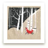 Foxy Woods by Annie Bakst