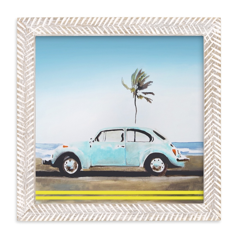 """""""Turq"""" - Limited Edition Art Print by SETH SMITH in beautiful frame options and a variety of sizes."""