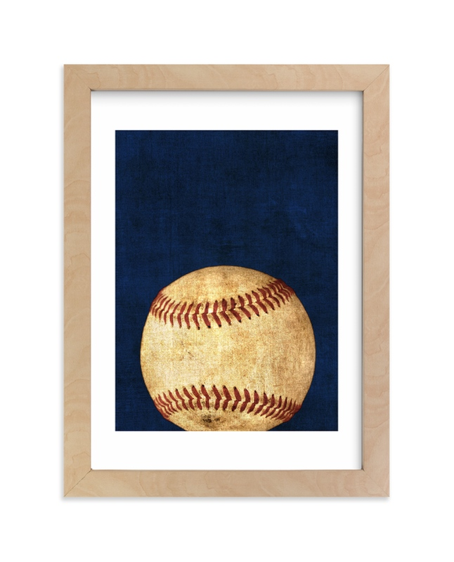 """Keep swinging"" - Limited Edition Art Print by Dawn Smith in beautiful frame options and a variety of sizes."