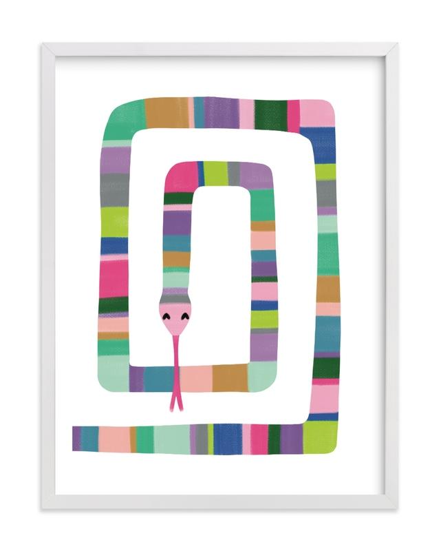 Sssnake Children's Art Print