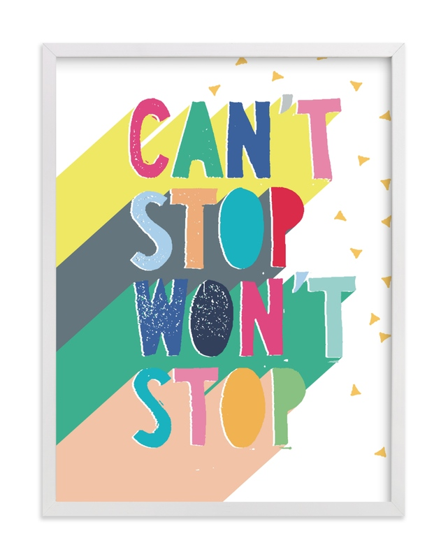 """""""Can't Stop"""" - Limited Edition Art Print by Katy Clemmans in beautiful frame options and a variety of sizes."""