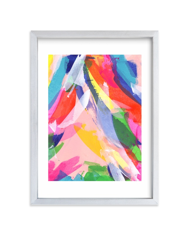 """""""I can"""" - Limited Edition Art Print by Karisa Marley in beautiful frame options and a variety of sizes."""