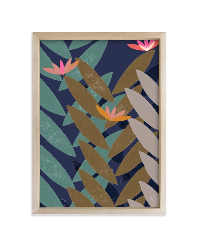 """""""Bromelias"""" - Limited Edition Art Print by Bethania Lima in beautiful frame options and a variety of sizes."""