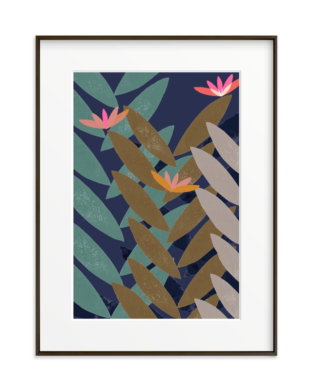 Bromelias Children's Art Print