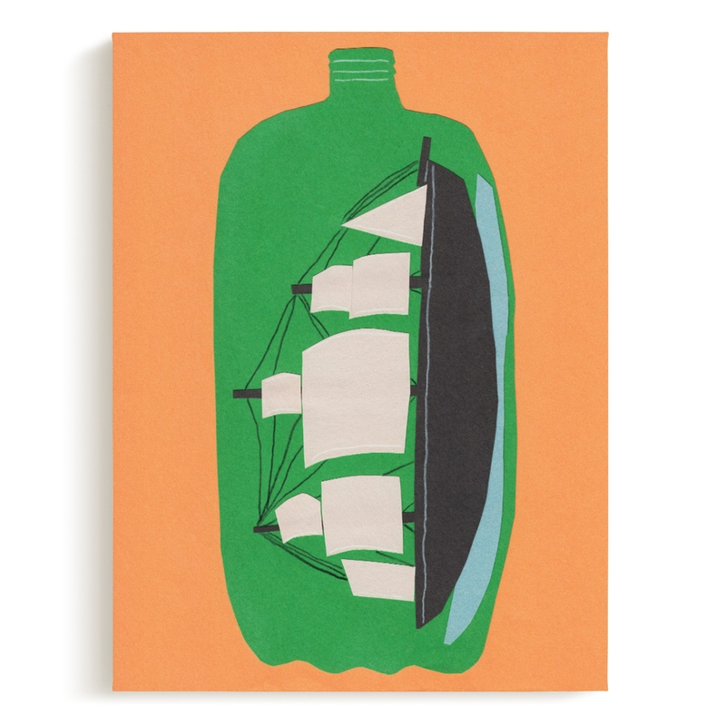 Two Liter Ship Children's Art Print