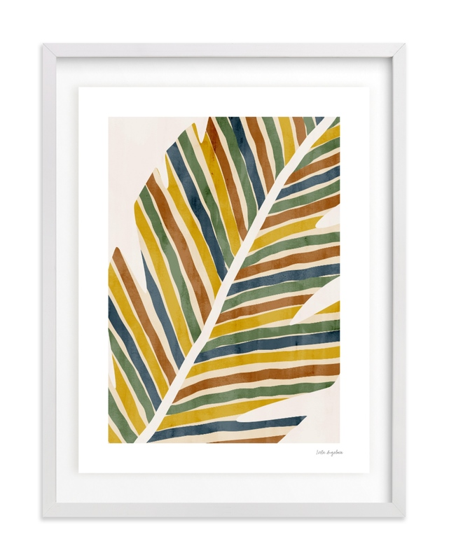 Abstract Palm Leaf Children's Art Print