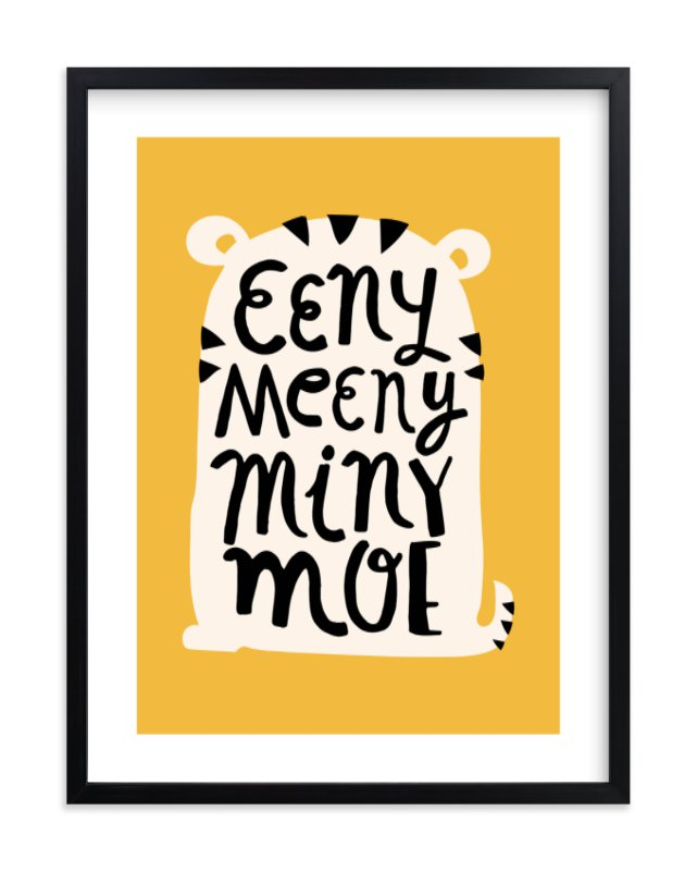 """""""Eeny Meeny"""" - Limited Edition Art Print by Ariel Rutland in beautiful frame options and a variety of sizes."""