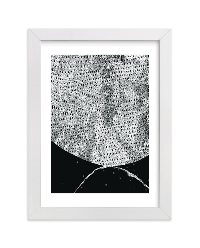 """Lunar Landscape"" - Limited Edition Art Print by Pooja Pittie in beautiful frame options and a variety of sizes."