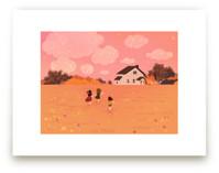 Three little friends by Yuke Li
