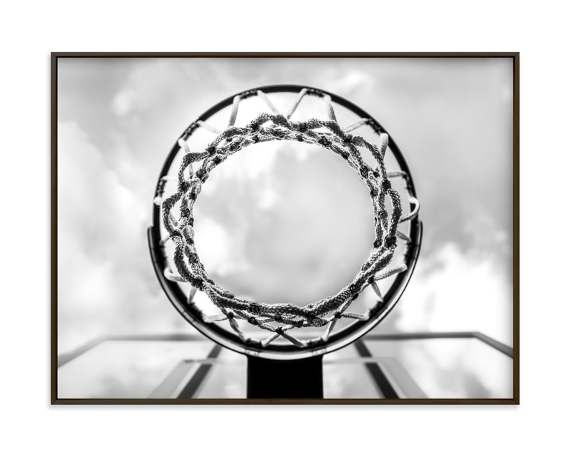 Hoop Dreams Children's Art Print