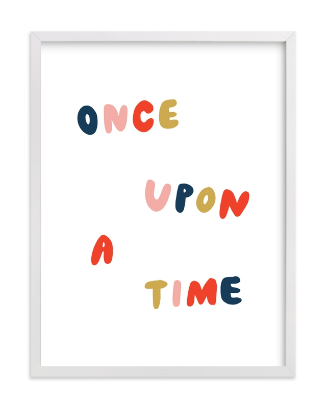 Once Upon a Time Children's Art Print