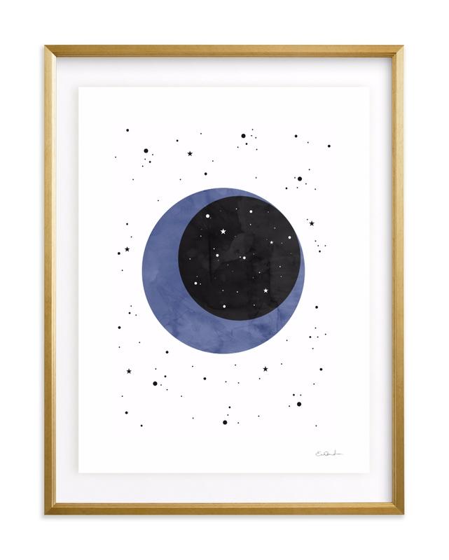 Moon Magic & You Children's Art Print