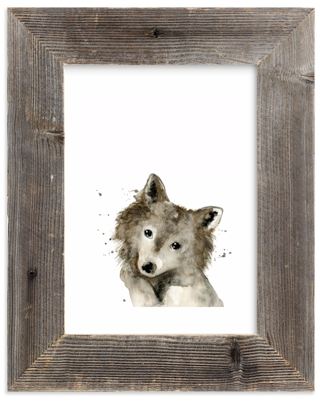 """My best friend"" - Limited Edition Art Print by Lulaloo in beautiful frame options and a variety of sizes."