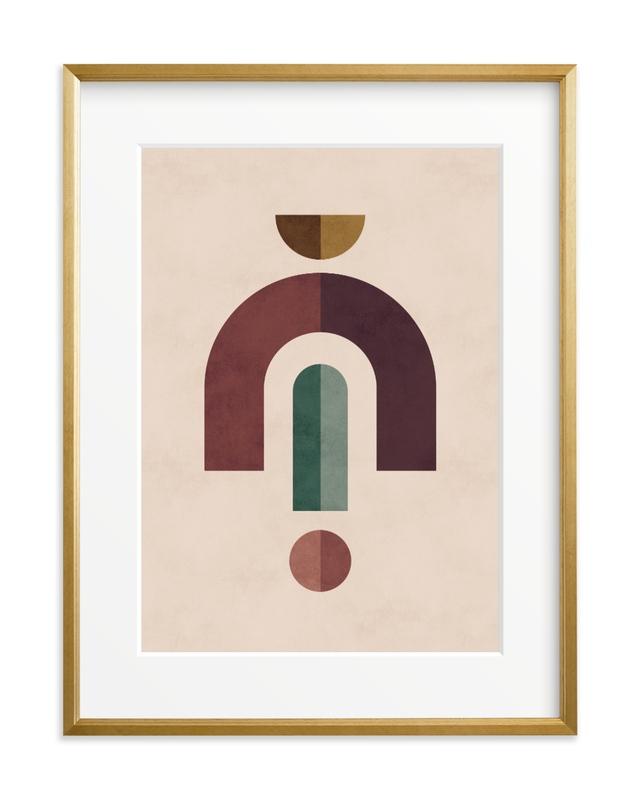 Geometric 2 Children's Art Print