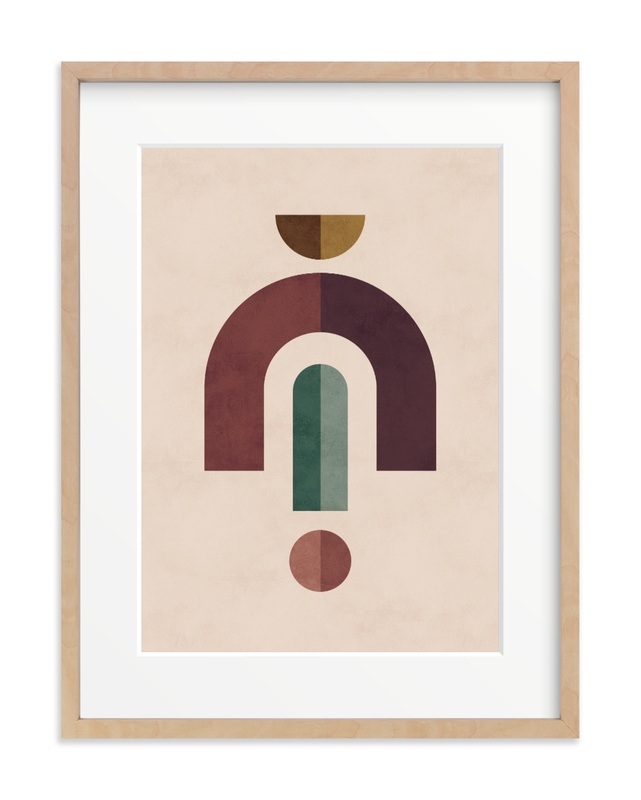 Geometric 2 Children's Art Print