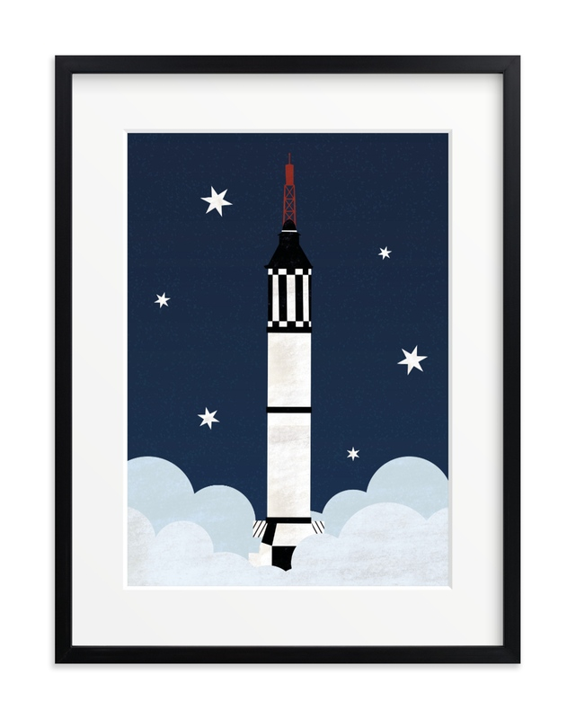 To The Stars Children's Art Print