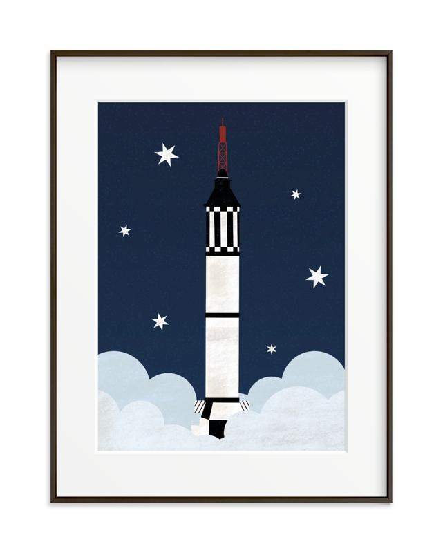 To The Stars Children's Art Print