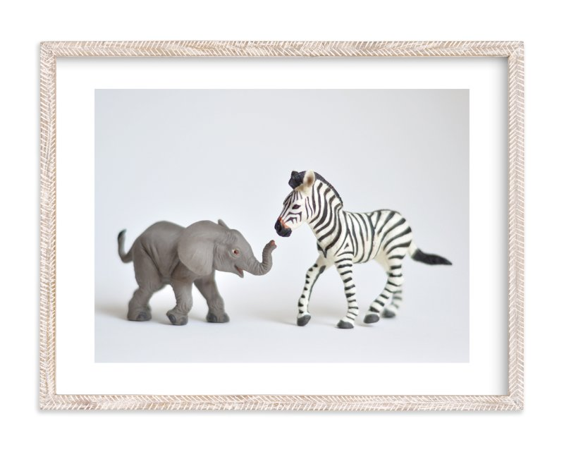 """""""These Friends"""" - Limited Edition Art Print by Kinga Subject in beautiful frame options and a variety of sizes."""