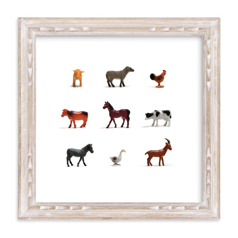 """I Bought the Farm"" - Limited Edition Art Print by Shannon in beautiful frame options and a variety of sizes."