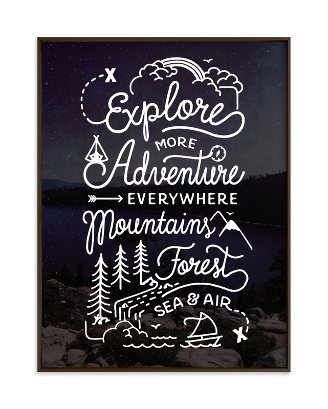 Explore More Children's Art Print