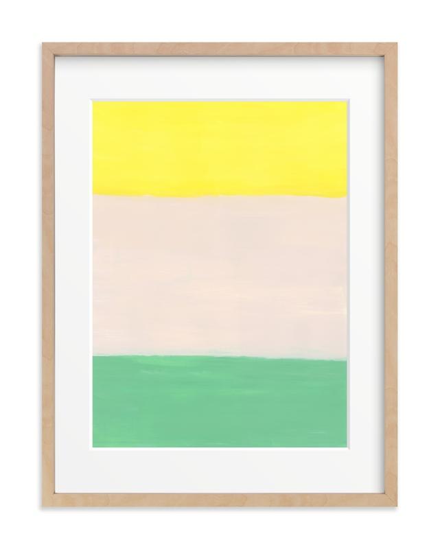 Color Blocks Children's Art Print