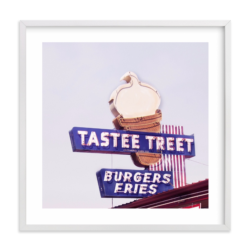 """""""Tastee Treet"""" - Limited Edition Art Print by Calais A Le Coq in beautiful frame options and a variety of sizes."""