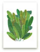 Banana Leaf Bouquet by Madeline Trait