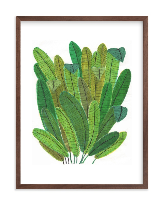 Banana Leaf Bouquet Children's Art Print